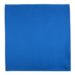 Magee 1866 Azure Blue Silk Pocket Handkerchief