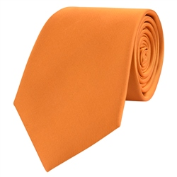 Magee Clothing Copper Classic Silk Tie