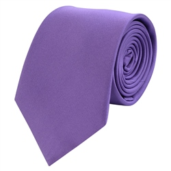 Magee Clothing Purple Classic Silk Tie