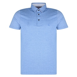 Magee 1866 Blue Raneel Polo Shirt