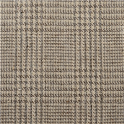 Magee 1866 Luxury Brown & Oat Checked Fabric