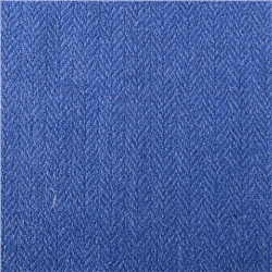 Magee 1866 Luxury Cobalt Blue Herringbone Silk