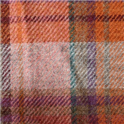 Magee Clothing Multi Coloured Large Check Donegal Tweed