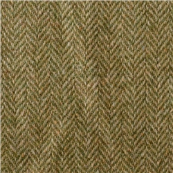Magee 1866 Green & Oat Herringbone Donegal Tweed
