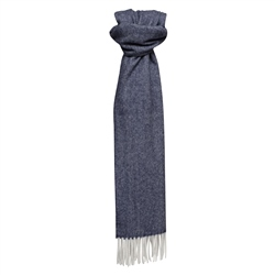 Magee Clothing Magee Navy & White Scarf