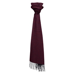 Magee Clothing Luxury Cashmere Burgundy Scarf