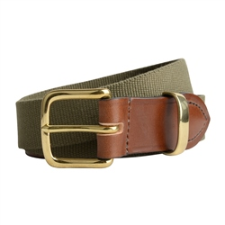 Magee 1866 Men's Bredon Luxury Green Belt