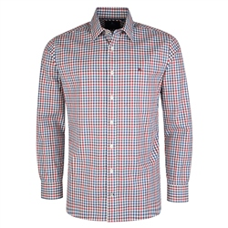 Magee Clothing Multicoloured Knockfola Checked Classic Fit Shirt