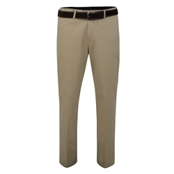 Magee Clothing Beige Dungloe Washed Look Classic Fit Trouser