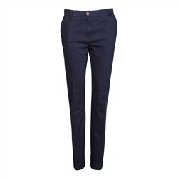 Magee 1866 Navy Lightweight Washed Look Tailored Fit Chinos