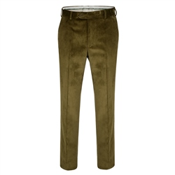 Magee 1866 Green Cotton Cord Trouser