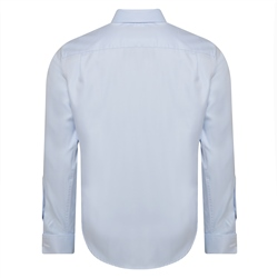 Blue Double Cuff Formal Classic Fit Shirt