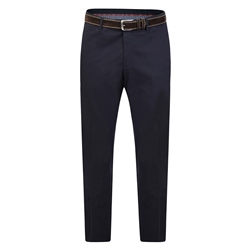 Magee 1866 Navy Washed Look Mullaghderg Classic Trouser