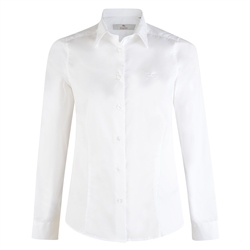 Magee 1866 Classic White Cotton Stretch Shirt