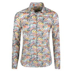 Magee 1866 Floral Multicoloured Liberty Print Shirt