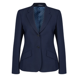Magee 1866 Navy Wool Blend Alicia Suit Jacket