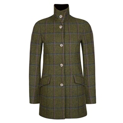 Magee 1866 Green, Blue & Pink Country Check Jacket
