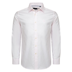 Magee 1866 Pink Classic Fit Formal Dress Collar Shirt