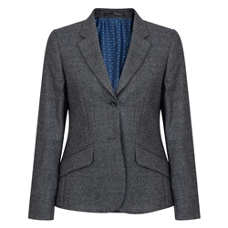 Magee 1866 Grey Alicia Micro Check Jacket