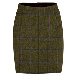 Magee 1866 Green, Blue & Pink Country Check Carey Skirt