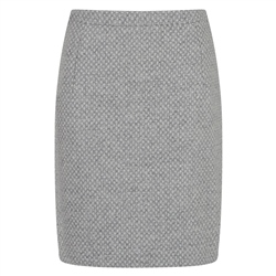 Magee 1866 Grey Woven Carey Skirt