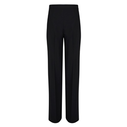 Magee 1866 Willow Black Wide Leg Trousers