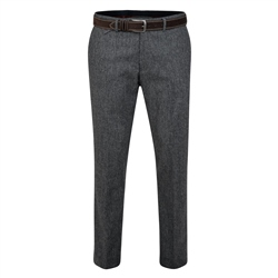 Magee 1866 Rathlin Grey Salt & Pepper Tailored Fit Trouser