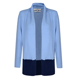 Blue & Navy Ava Cardigan