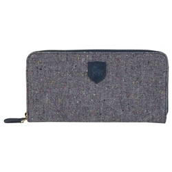 Magee 1866 Grey Salt & Pepper Donegal Tweed Wallet