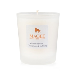 Magee 1866 Winter Berries, Cinnamon & Nutmeg Natural Wax Handmade Candle
