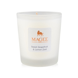 Magee 1866 Sweet Grapefruit & Lemon Zest Natural Wax Handmade Candle