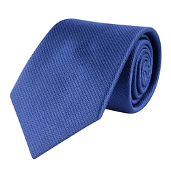 Magee 1866 Blue Woven Classic Silk Tie