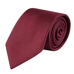 Magee 1866 Burgundy Woven Classic Silk Tie