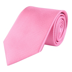 Magee 1866 Pink Classic Woven Silk Tie