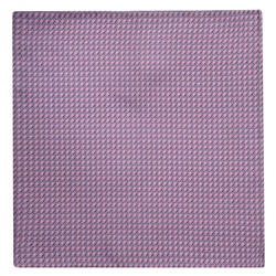Magee 1866 Stirrups Print, Pink Silk Pocket Square