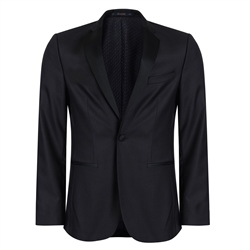 Magee 1866 Black 2-Piece Finn Tailored Fit Dinner Suit
