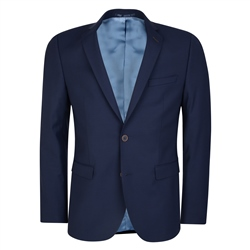 Navy Micro Design 3-Piece Tailored Fit Jacket