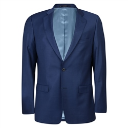 Blue Pinstripe 3-Piece Classic Fit Jacket