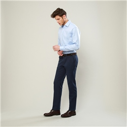 Magee 1866 Navy Washed Classic Fit Trousers