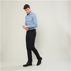Magee 1866 Dark Navy Moyra Slim Fit Trousers