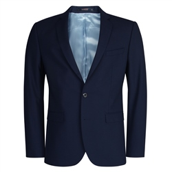 Navy Mix & Match 3-Piece Tailored Fit Suit Jacket