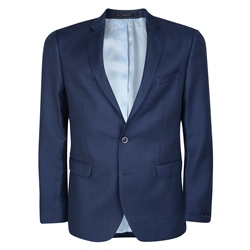 Magee 1866 Navy & Blue Tailored Fit Blazer