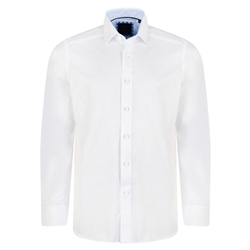 Magee 1866 White Formal Altahan Tailored Fit Shirt