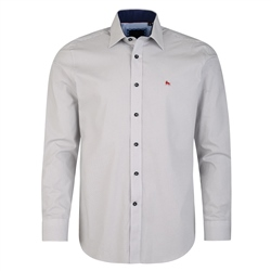 Magee 1866 Kilbeg Micro Design Cotton Classic Fit Shirt