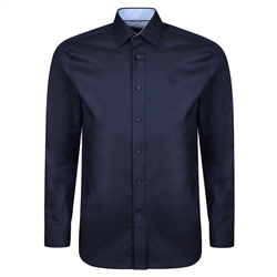 Magee 1866 Navy Altahan Formal Classic Fit Shirt