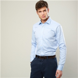 Magee 1866 Blue Formal Altahan Classic Fit Shirt