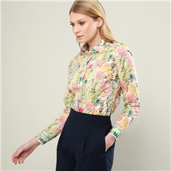 Magee 1866 Multicoloured Hannah Floral Garden Liberty Print Shirt