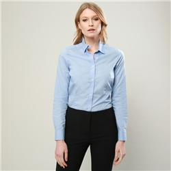Magee 1866 Blue Hannah Classic Fit Shirt