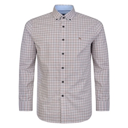 Magee 1866 Red Checked Tullagh Button-Down Classic Fit Shirt