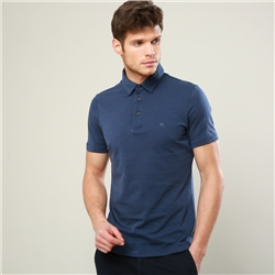 Magee 1866 Indigo Rahan Tailored Fit Polo Shirt